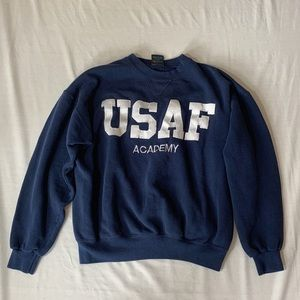 Vintage Air Force crew neck